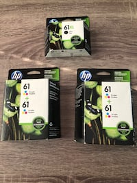 61XL 61 Tricolor HP Ink $30 EACH Bartlett, 60103