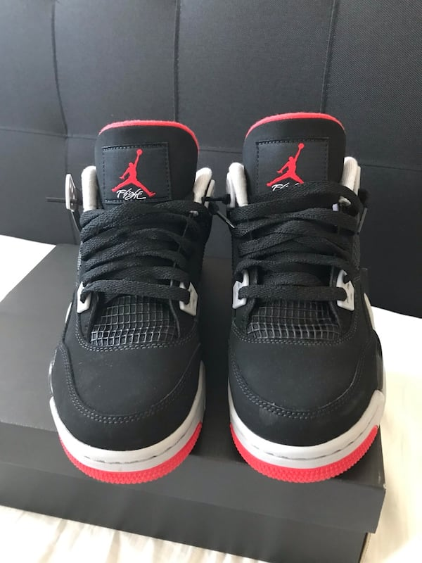 Air Jordan Bred 4s DS 4