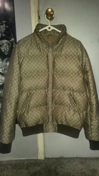 Authentic Gucci bubble jacket