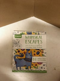 Whimsical escapes coloring book  Port Orange, 32128