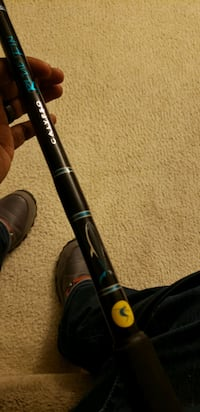 Calypso blue fin fishing rod