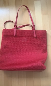 Michael Kors red tote/ purse  New Westminster, V3L