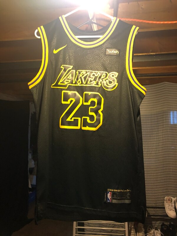 b558bad1e Used Lebron James Jersey Chauncey billups throwback jersey for sale in  Denver - letgo
