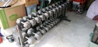 Olympic Dumbells with Rack Middletown, 19709