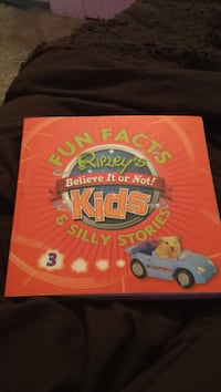 Fun Fact Ripley's Believe it or not Kids and silly stories book