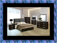 B120 11pc bedroom set with mattress Glen Burnie
