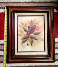 Vintage butterfly painting Modesto, 95350