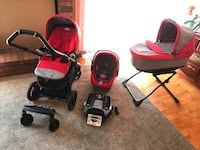 Car seat and stroller by Pegperego  Vaughan, L4K 4X2