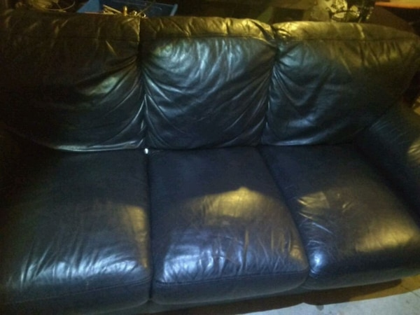 Used Real Italian leather sofa for sale in Tabernacle - letgo