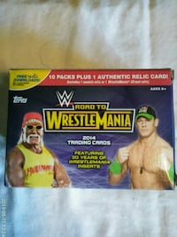 2014 WrestleMania Cards