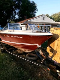 1977 centry raven boat and trailer  Canton