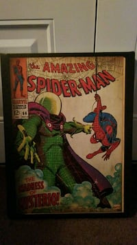 Marvel The Amazing Spider-Man comic book poster Orlando, 32837