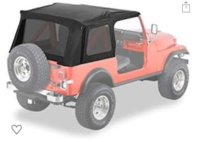 1976-1995 Jeep Wrangler Replacement Top