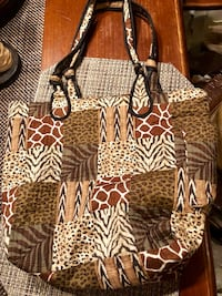 Safari print Blair purse  South Chesterfield, 23803