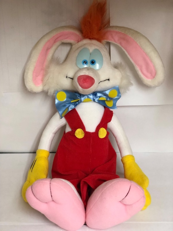 Used Roger Rabbit Plush Stuffed Animal Vintage 1988 For Sale In
