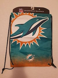 New Drawstring Dolphins backpack Vail, 85641