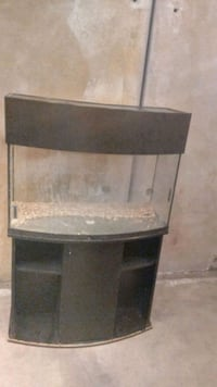 50 Gallon BowFront Tank and Stand $150 OBO Orangevale, 95662