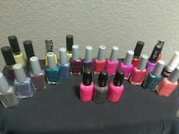New and used nail polishes San Diego, 92154
