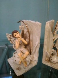 Ceramic Pixie book ends  Burlington, L7R 3P8