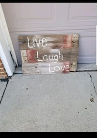 Large Inspirational sign from Reclaimed farmhouse