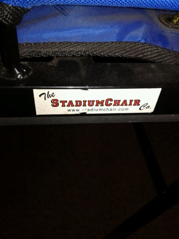 Stadium Chair for sitting in the bleachers d95598e0-53bc-4678-ba3f-f672bb2d8c88