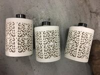 3 Ceramic canisters from Bali  Toronto, M5V 3X4
