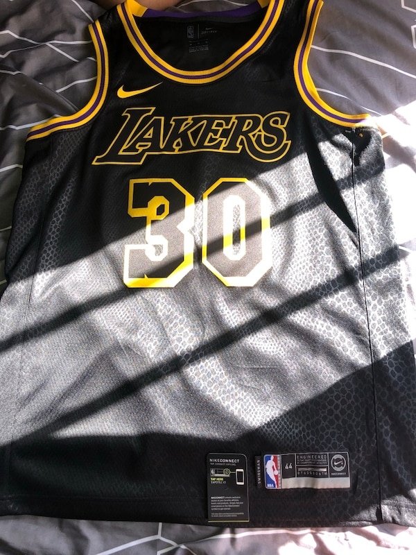 be57d2b0e6d Used Nike LA Lakers city jersey for sale in Los Angeles - letgo