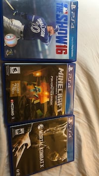 Two sony ps4 game cases Scott, 70583