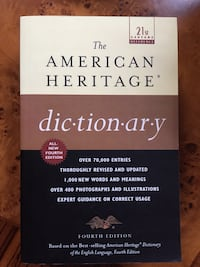 Brand New Unused American Hertage Dictionary 4th Edition