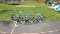 four chrome multi-spoke car wheels Fairfax, 22032