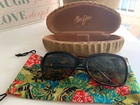 Maui Jim polarized sunglasses with soft and hard case