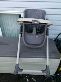 toddler's gray and black Graco high chair Edmonton, T5B 2W3