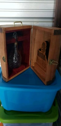 Nice advertising piece with glass wine decanter Lewiston, 04240
