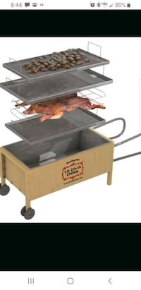 La Caja China Roaster