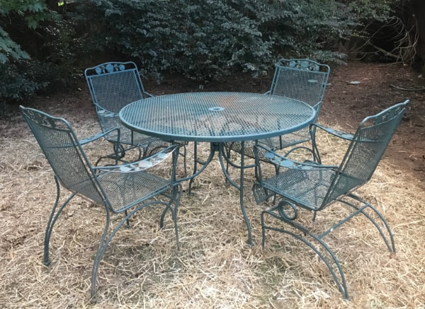 Used Vintage Mesh Patio Furniture Set For Sale In Cumming Letgo