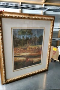 Framed Landscape Print by Sanders McNeal   Shreveport, 71104