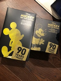 Mickey 90 years of magic limited edition  Toronto, M2K 0C3