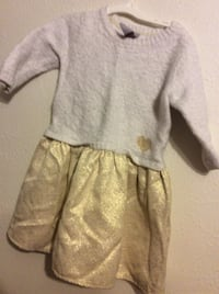 Tahari dress for girls size 6x in good condition , warm and cozy  holiday dress  Aurora, 80012