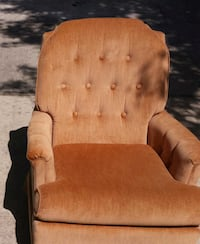 brown wooden framed brown fabric padded armchair San Antonio, 78254