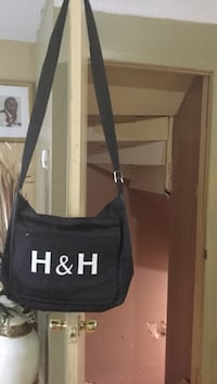black H & H crossbody bag