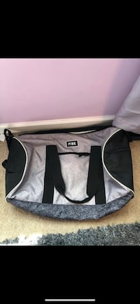 black and gray duffel bag Bowie, 20720