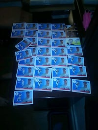 Mickey Mantle cards Fayetteville