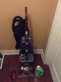 black and red upright vacuum cleaner Oakville, L6H 0B2