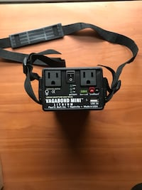 Photography lighting battery pack.