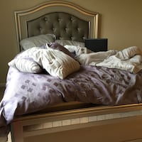 Queen size bed frame for sale Silver Spring, 20910