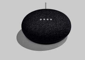 Google home mine - charcoal  downtown pick up only