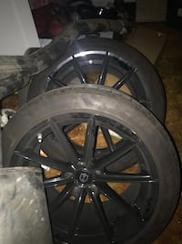 20 inch rims came of a camaro tires 80-90 %  Bakersfield