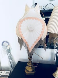 brown and white floral pendant lamp Toronto, M3B 3H2
