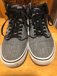 Youth VANS High Top Shoes Size 8 London