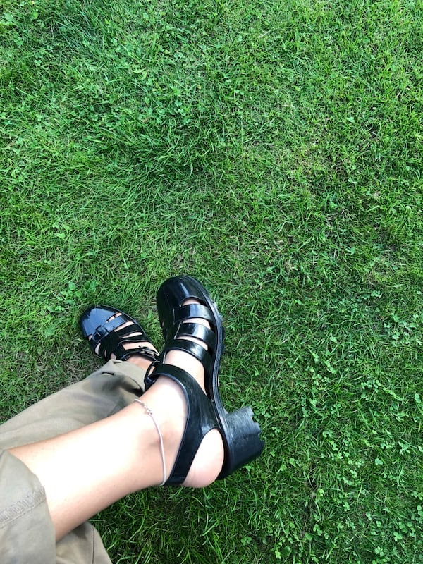 American Apparel Jelly sandals 4e1710fe-8773-443c-839d-7d91bc0e580e